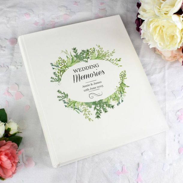 Personalised Traditional Botanical Photo Album