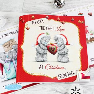 Personalised Me to You The One I Love Christmas Poem Book