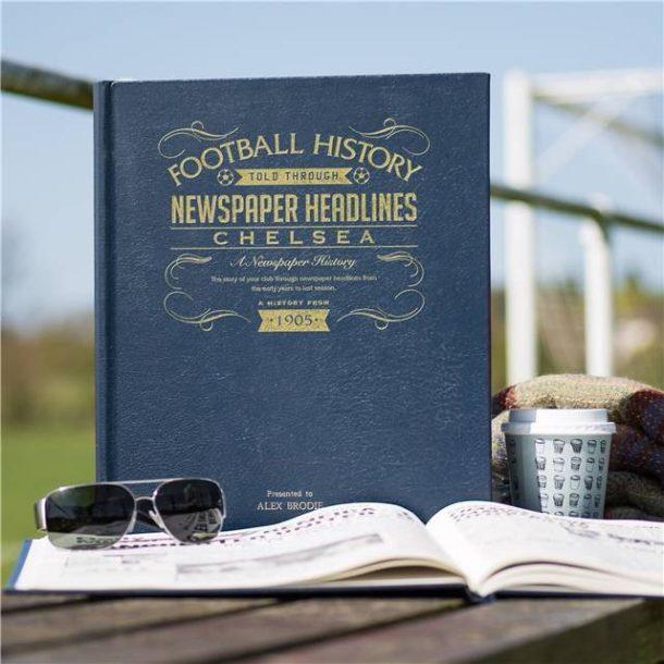 Personalised Chelsea Football Book