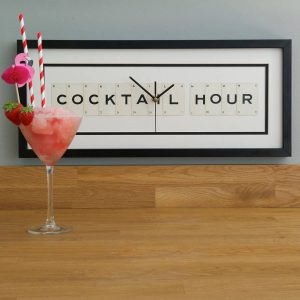 Cocktail Hour Frame Clock