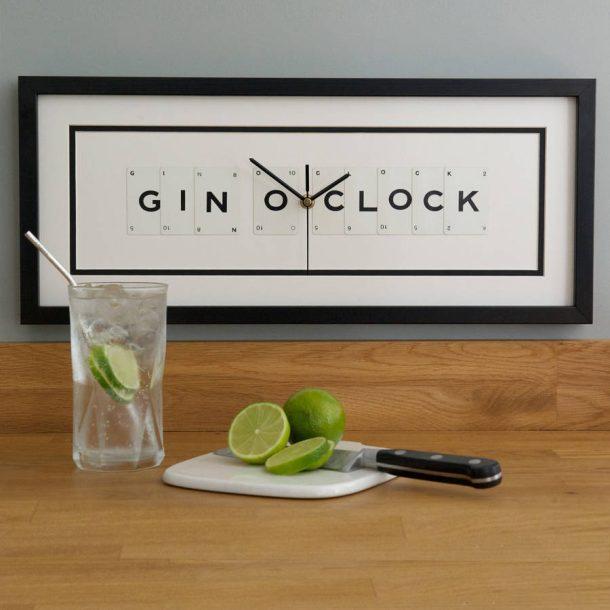 Gin O Clock Frame Clock