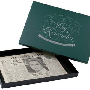 Original Newspaper & Premium Gift Box - Any Date