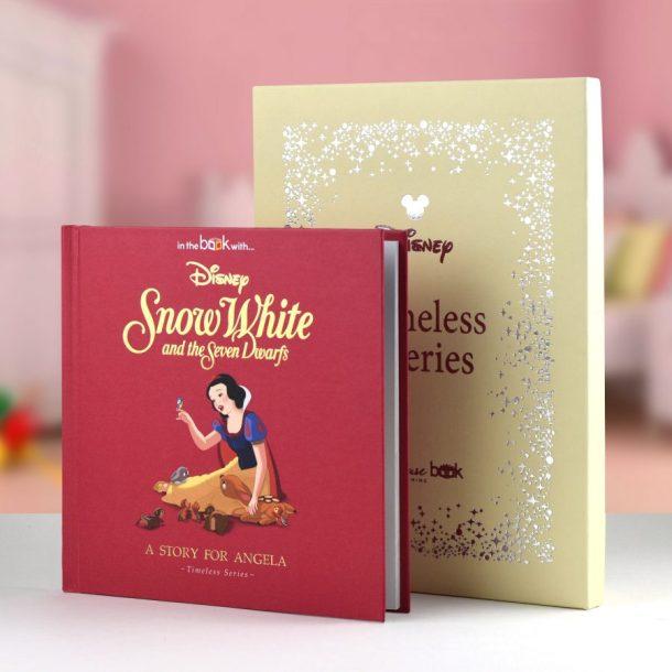 Personalised Disney Snow White Book