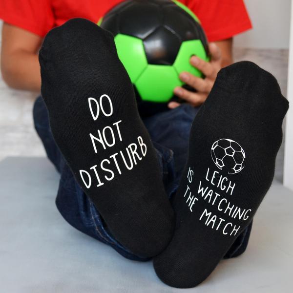 Personalised Football Socks