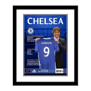 Personalised Framed Chelsea Magazine Cover Print