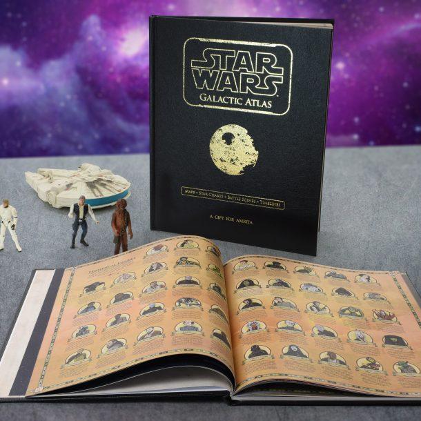 Personalised Star Wars Galactic Atlas