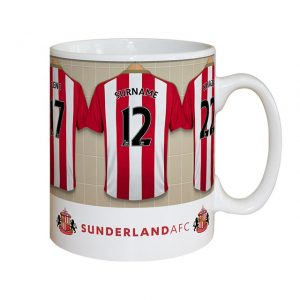 Personalised Sunderland Dressing Room Mug