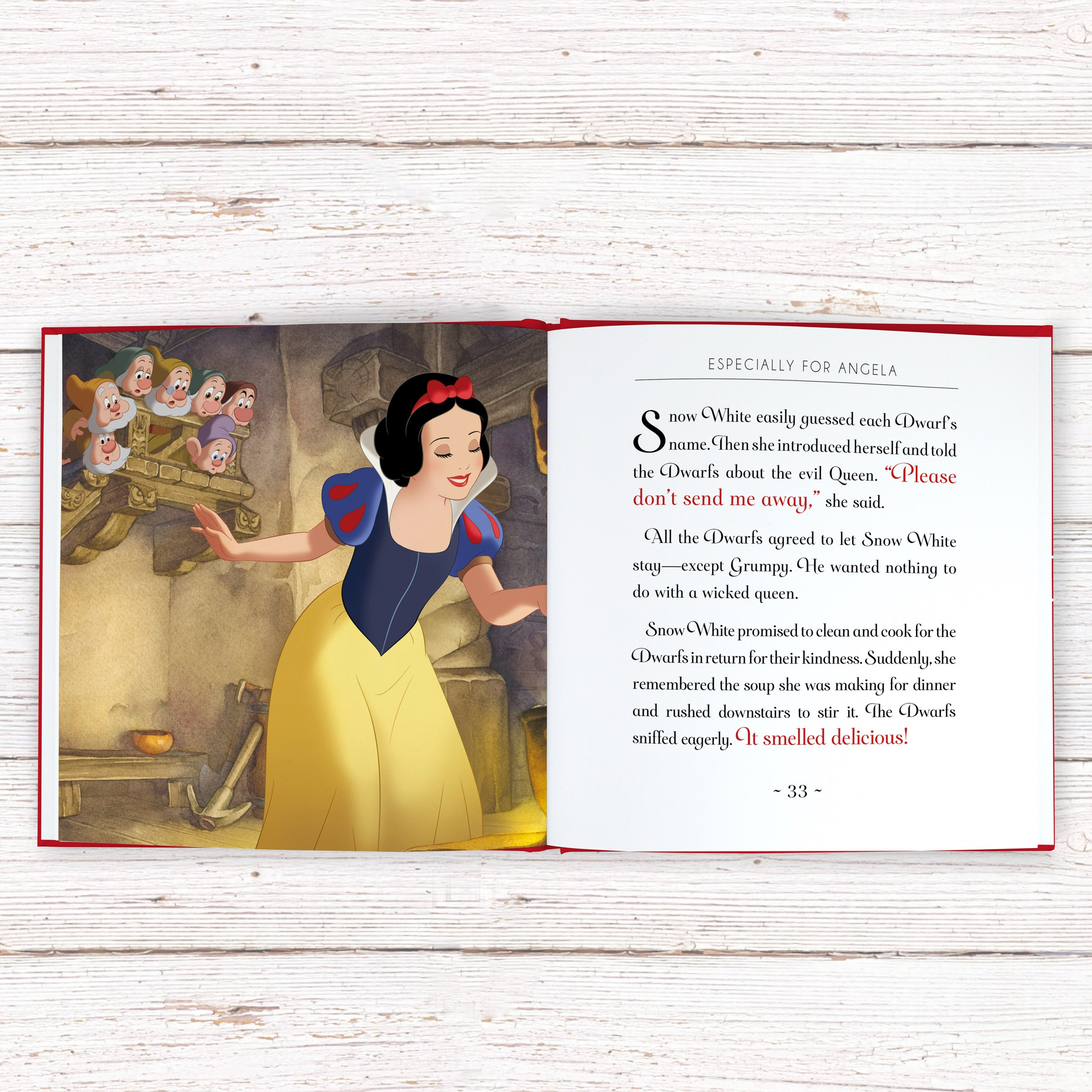 Personalised Disney Snow White Book Love My Gifts