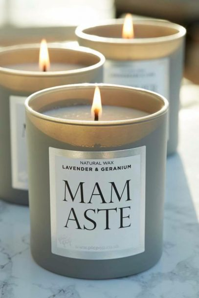 Mamaste – Lavender and Geranium Candle