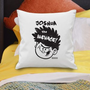 Personalised Big Heads Dennis Cushion