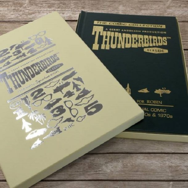 Personalised Deluxe Thunderbirds Comic Collection Book