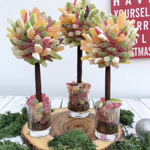 Personalised Fizzy Haribo Sweet Trees