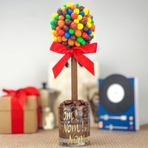 Personalised M & M Peanut Sweet Trees