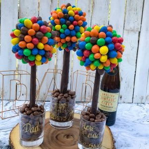 Personalised M & M'S Sweet Trees