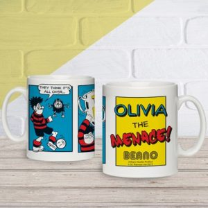 Personalised Beano Classic Top Dog Mug