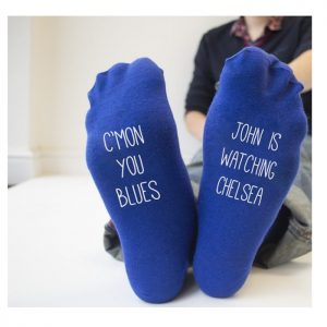 Personalised Chelsea Socks