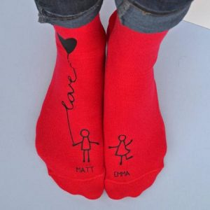 Personalised Me & You Balloon Socks