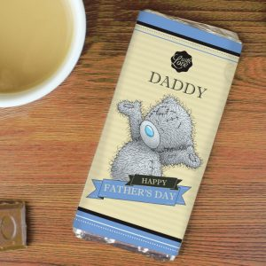 Personalised Me to You Milk Chocolate Bar For Him