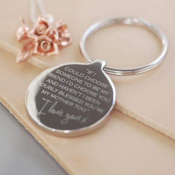 Personalised Mother Keyring