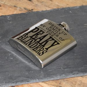 Personalised Peaky Blinders Hip Flask