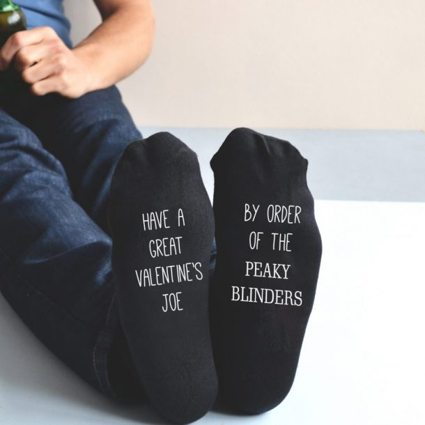 Personalised Peaky Blinders Valentines Socks