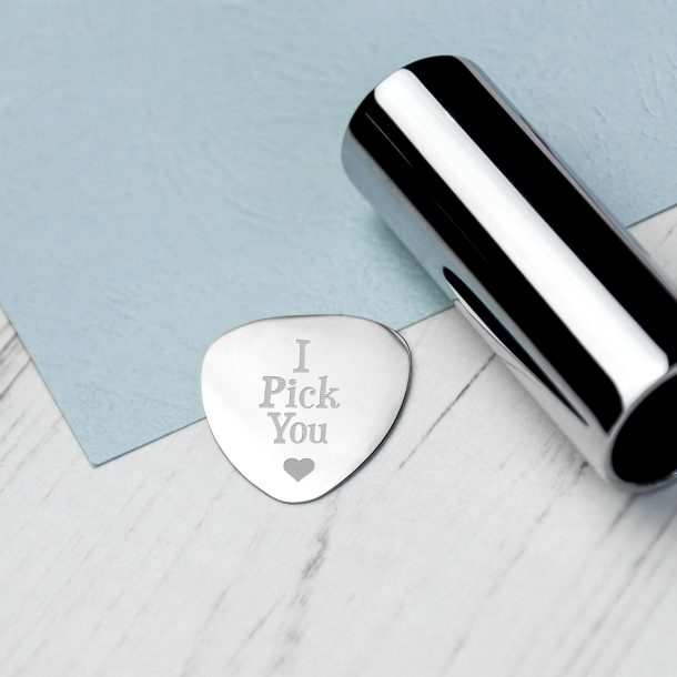 Personalised Romantic Plectrum