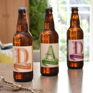 Personalised Set Of D-A-D Craft Beers