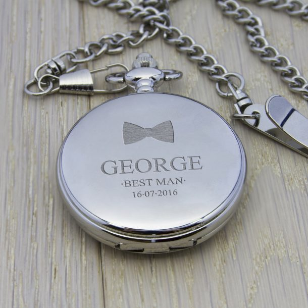 Personalised Wedding Collection Pocket Watch