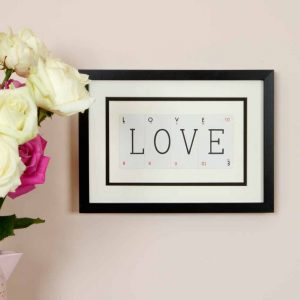 Vintage Cards Love Frame