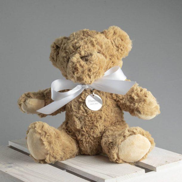 Personalised Bramble Christening Bear