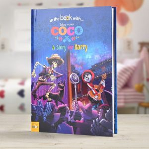 Personalised Disney Coco Hardback Book