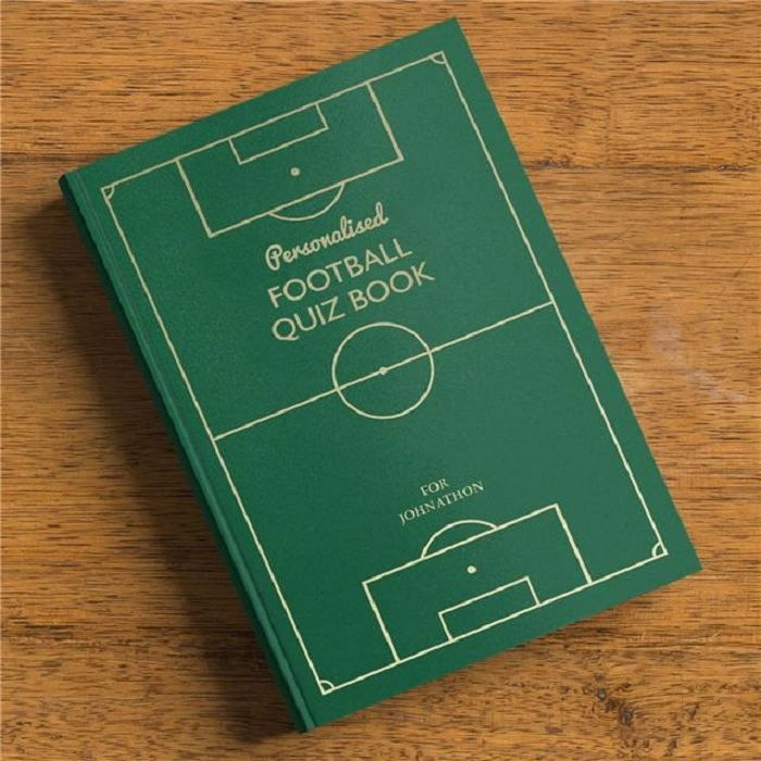 Personalised Football Quiz Book For Any Team | Love My Gifts