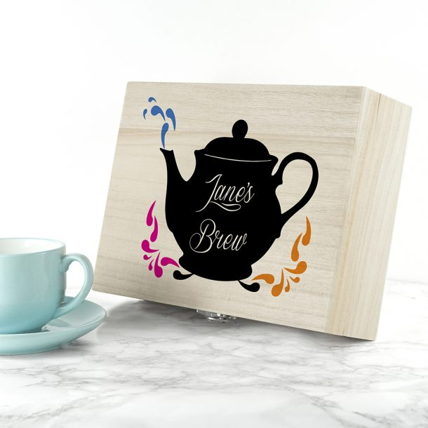 Personalised My Favourite Brew Tea Box