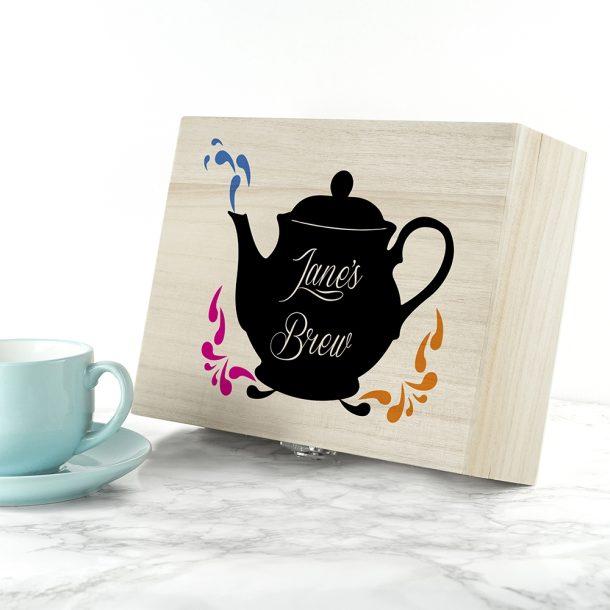 Personalised My Favourite Brew Tea Box