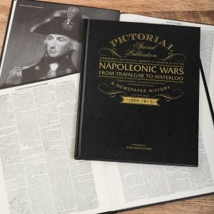 Personalised Napoleonic Wars Pictorial Edition Newspaper Book