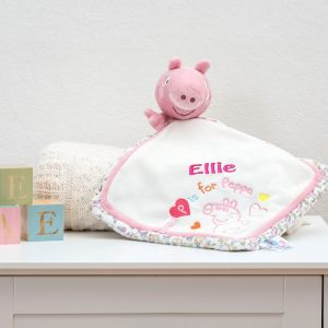 Personalised Peppa Pig Comfort Blanket