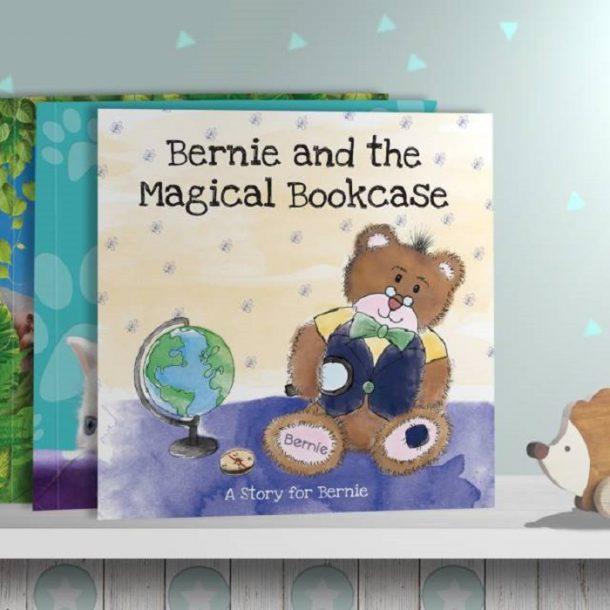 Personalised The Magical Bookcase Book - Softback