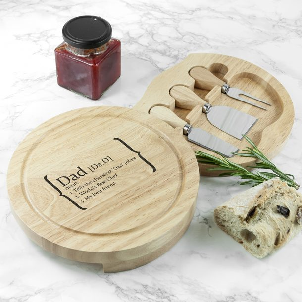 Personalised Your Definition Cheese Board Set
