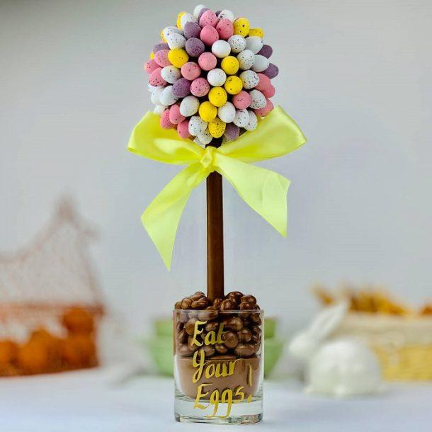 Personalised Cadbury's Mini Egg Sweet Trees