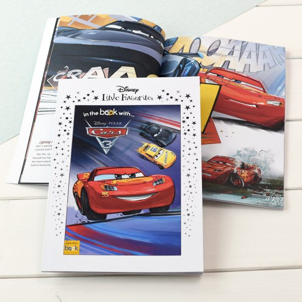 Personalised Disney Little Favourites Cars 3 Book