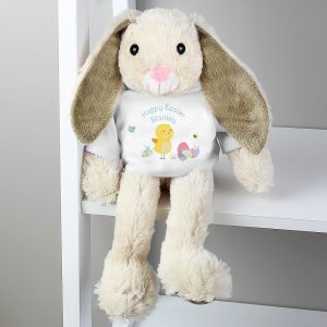 Personalised Easter T-Shirt Bunny