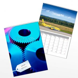 Personalised For Him A4 Wall Calendar