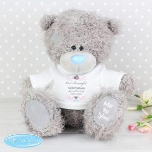 Personalised Me To You Bear - Bridesmaid