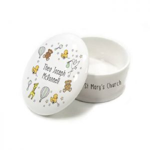 Personalised Nursery Scene Trinket Box