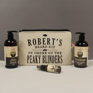 Personalised Peaky Blinders Beard Kit