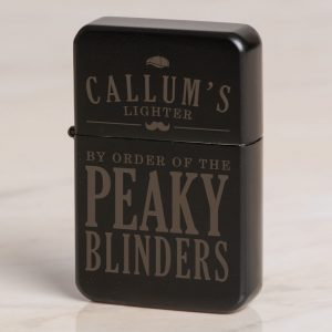 Personalised Peaky Blinders Black Lighter