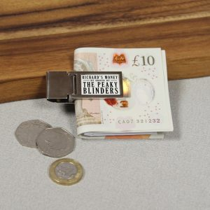 Personalised Peaky Blinders Money Clip