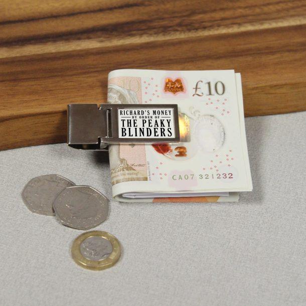 Personalised Peaky Blinders Money Clip