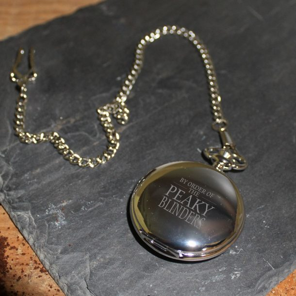 Personalised Peaky Blinders Pocket Watch
