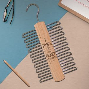 Personalised Peaky Blinders Tie Hanger